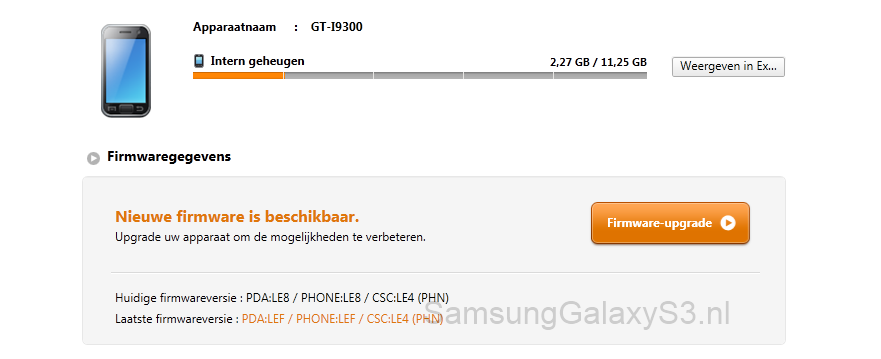 samsung-galaxy-s3-firmware-upgrade1 Samsung Galaxy S3 firmware update beschikbaar in Kies (update 30 juni)