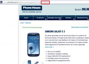 samsung-galaxy-s3-metallic-blue-phonehouse-300x218 Blauwe Samsung Galaxy S3 arriveert in Nederland (update 6 juni)