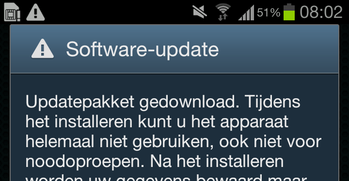 Screenshot_2012-10-31-08-02-071 Android 4.1 Jellybean voor Samsung Galaxy S3 arriveert in Nederland