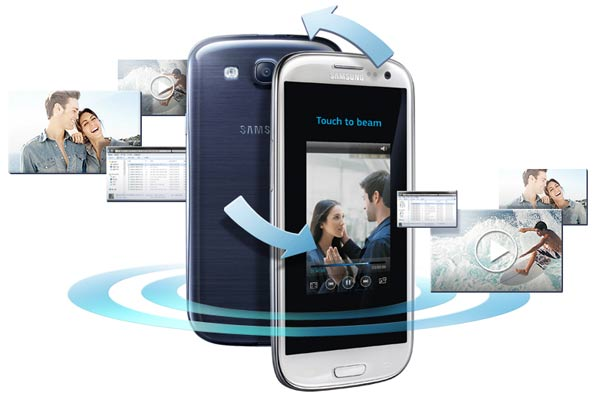samsung-galaxy-s2-plus-nfc-sbeam Samsung Galaxy S2 Plus komt in twee versies