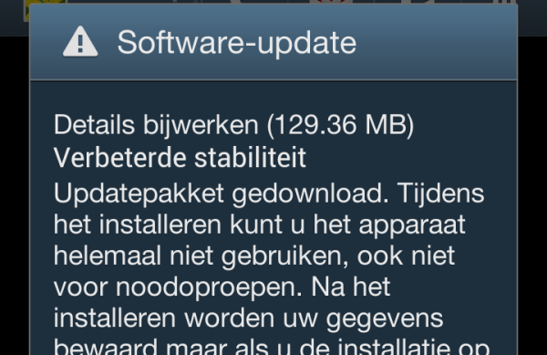 Screenshot_2013-01-07-12-01-45 En... daar is hij dan: de Android 4.1.2 update voor de Samsung Galaxy S3 (update: +Vodafone)