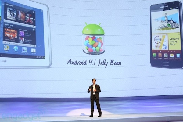 samsung-galaxy-note-android-jellybean-update Android 4.1 Jellybean update voor eerste Galaxy Note vanaf maart?