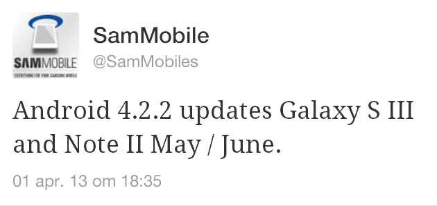 samsung-galaxy-note-2-android-4-2-update 'Samsung Galaxy S3 krijgt Android 4.2 in mei/juni'