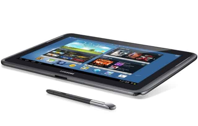 galaxy-note-10-1-spen '12 inch Samsung Galaxy Note tablet vanaf oktober'