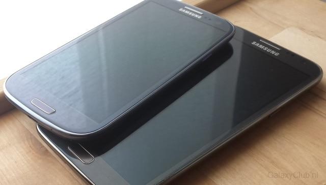 samsung-galaxy-s3-galaxy-note-2 Android 4.3 update Samsung Galaxy Note 2 in december, Galaxy S3 nog deze maand