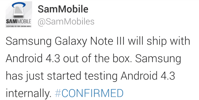 samsung-galaxy-note-3-android-4-3 Samsung Galaxy Note 3 komt met Android 4.3 standaard aan boord