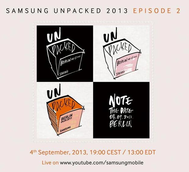 samsung-galaxy-note-3-unpacked Officieel: onthulling Samsung Galaxy Note 3, Galaxy Gear op 4 september
