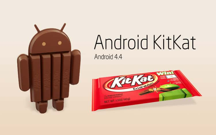 "android-kitkat ""Have a break, have a KitKat Android"" - maar wel pas in oktober"