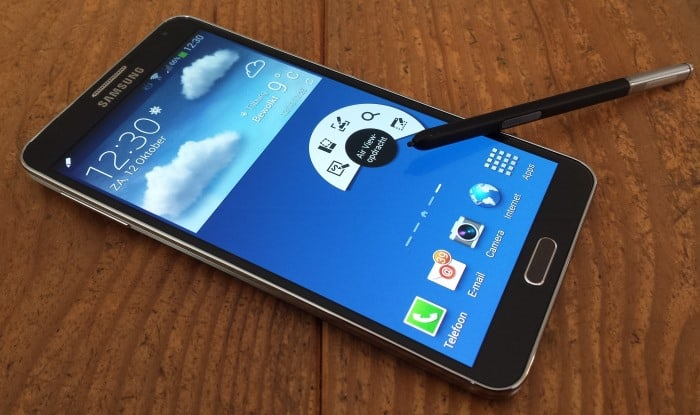 samsung-galaxy-note-3- Features van de Samsung Galaxy Note 4 duiken op - vingerscanner, waterdicht