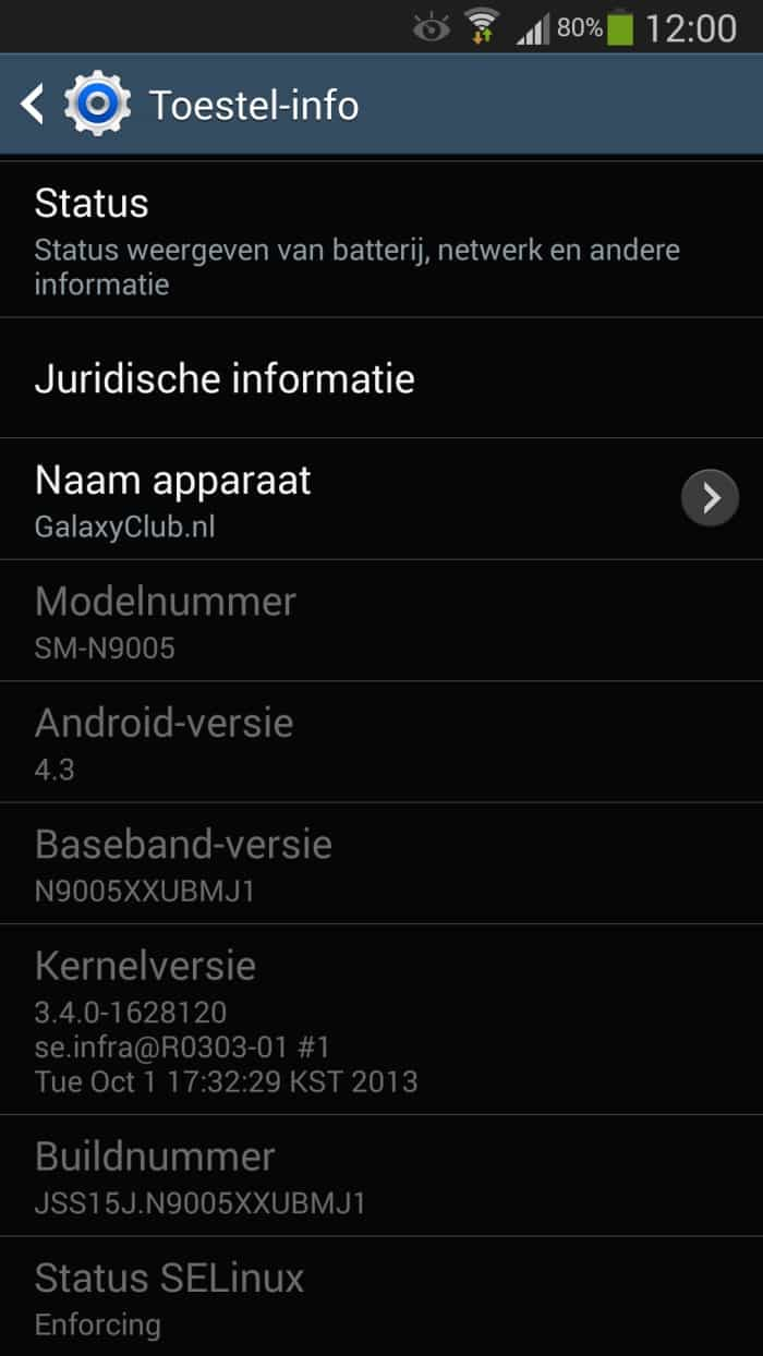 samsung-galaxy-note-3-update-oktober Samsung Galaxy Note 3 krijgt eerste update