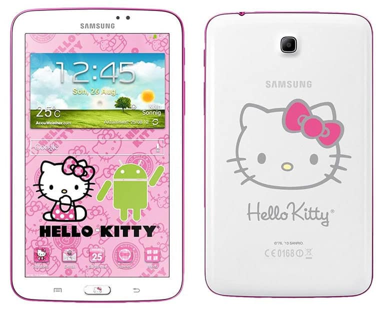 samsung-galaxy-tab-3-7-0-hello-kitty Hallo, Galaxy Tab 3 7.0 Hello Kitty uitvoering