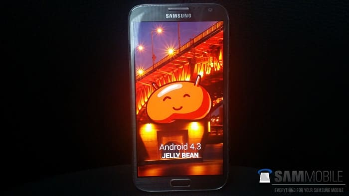 samsung-galaxy-note-2-android-4-3-november-firmware 'Android 4.3 update Samsung Galaxy Note 2 begint volgende week' (+nieuwe firmware)