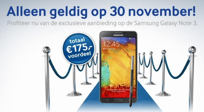 samsung-galaxy-note-3-30-november-actie