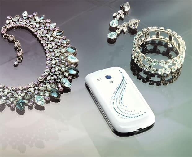 samsung-galaxy-s3-mini-crystal-swarovski-2 Meer bling voor je Mini: de Samsung Galaxy S3 Mini Crystal Edition