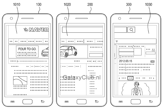 samsung-multi-display-patent-galaxy-s5-4 Vergeet Multiwindow, dit is Multidisplay - een mogelijke feature van de Samsung Galaxy S5