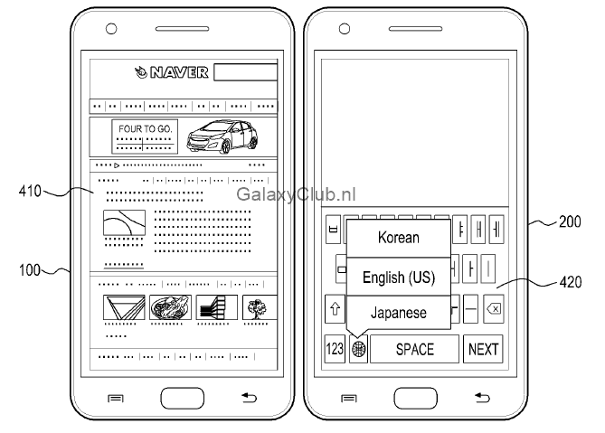 samsung-multi-display-patent-galaxy-s5-6 Vergeet Multiwindow, dit is Multidisplay - een mogelijke feature van de Samsung Galaxy S5
