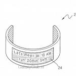 Meer draagbare Gear in de pijpleiding: patent toont polsband met flexibel scherm (update)