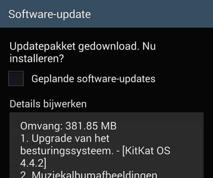 samsung-galaxy-note-3-android-4-4-kitkat-update-xxuena61 Nederlandse Samsung Galaxy Note 3 krijgt Android 4.4 KitKat