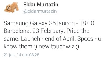 samsung-galaxy-s5-onthulling 'Onthulling Samsung Galaxy S5 op 23 februari'