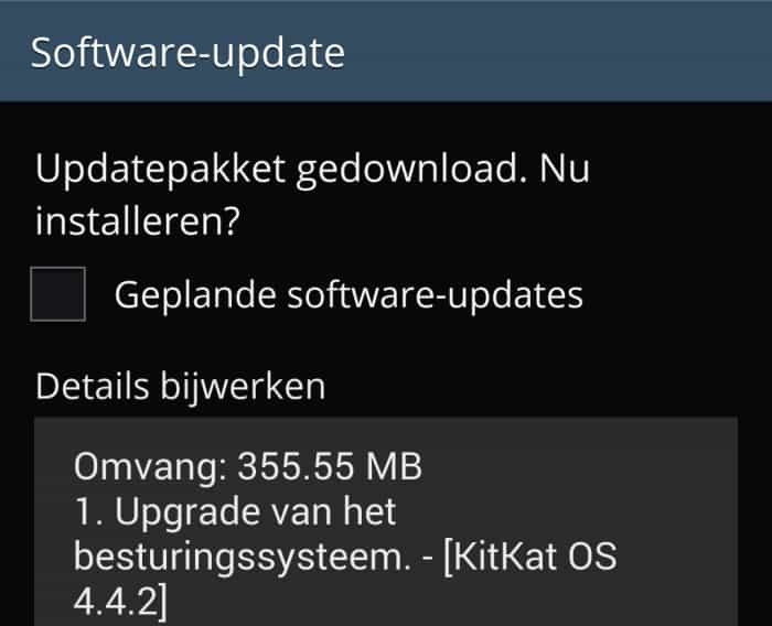 samsung-galaxy-s4-android-4-4-kitkat-update-nederland-3 Nederlandse Samsung Galaxy S4 krijgt Android 4.4 KitKat update