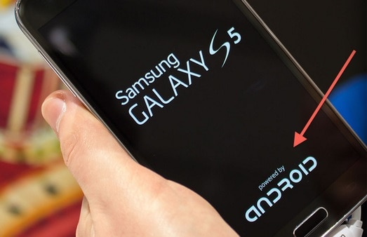 samsung-galaxy-s5-android-branding Opvallend: Samsung toont prominentere Android branding (in de Galaxy S5)