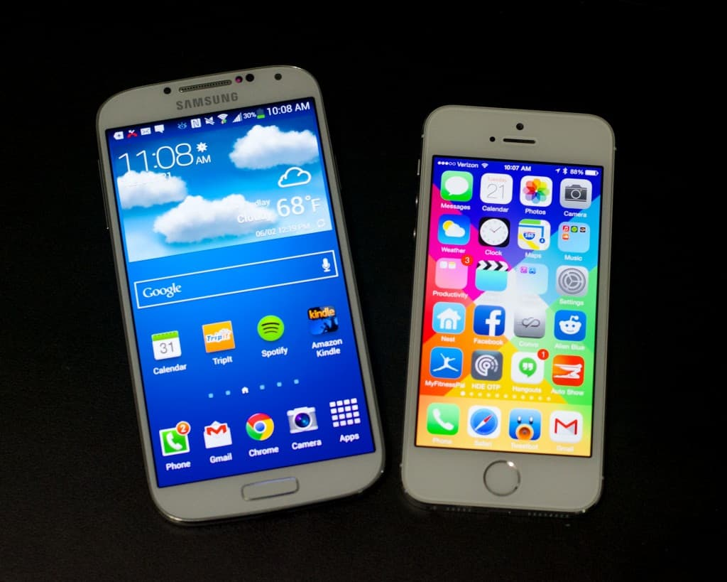 iPhone-6-vs-Galaxy-S5-heats-Up-1024x819 Een derde van Galaxy S5 gebruikers upgraden van iPhone