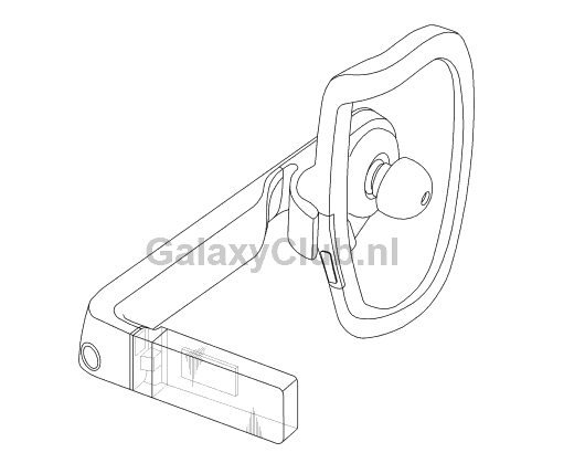 samsung-gear-glass-earphone-patent-1 Nieuw concept 'Gear Glass' opgedoken in patentaanvraag Samsung - 'Earphone'