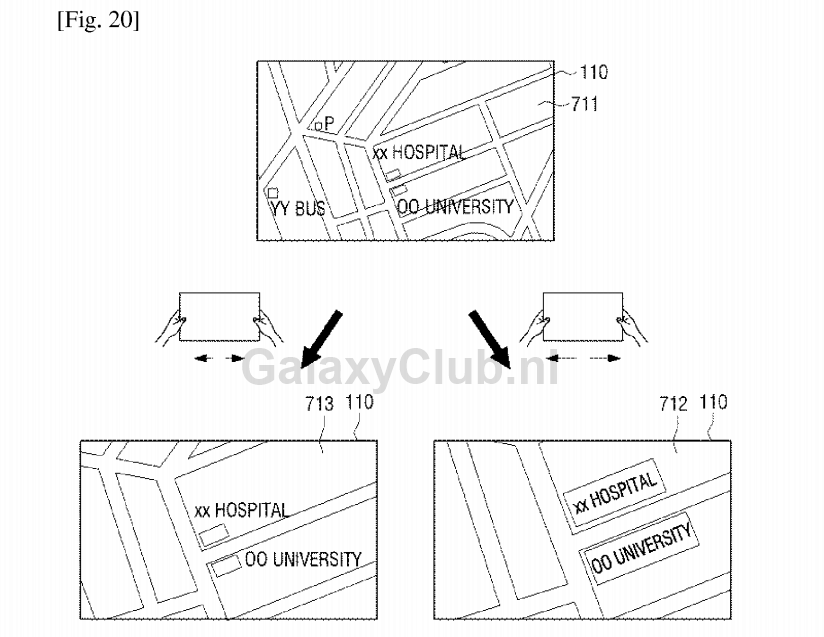 samsung-stretchable-interface-patent-1 Samsung patenteert oprekbare interface en beeldscherm