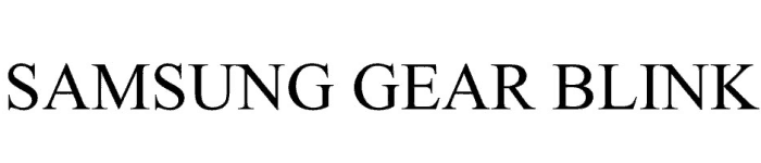samsung-gear-blink-trademark-gc