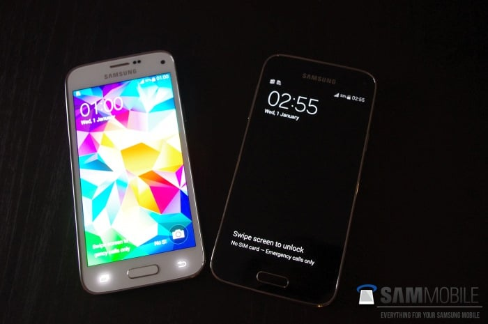 samsung-galaxy-s5-mini-zwart-wit Samsung Galaxy S5 Mini: méér foto's en specificaties