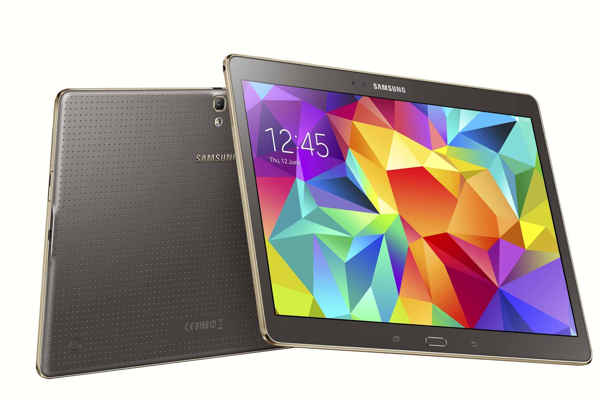 Onderwerp: Nieuws , Samsung Galaxy Tab , Samsung Galaxy Tab S