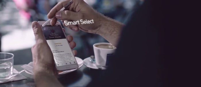 samsung-galaxy-note-4-smart-select-1 Uitgelicht: nieuwe S Pen features van de Samsung Galaxy Note 4