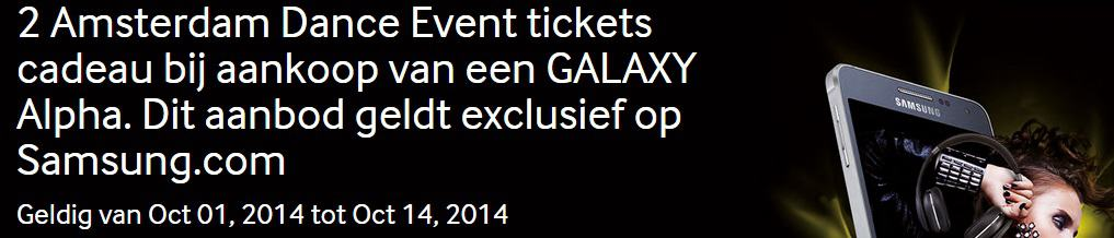 samsung-galaxy-alpha-tickets-ade-amsterdam-dance-event