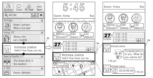 samsung-interface-patent-3 Nieuw interface concept Samsung duikt op in patent (Iconic UX?)