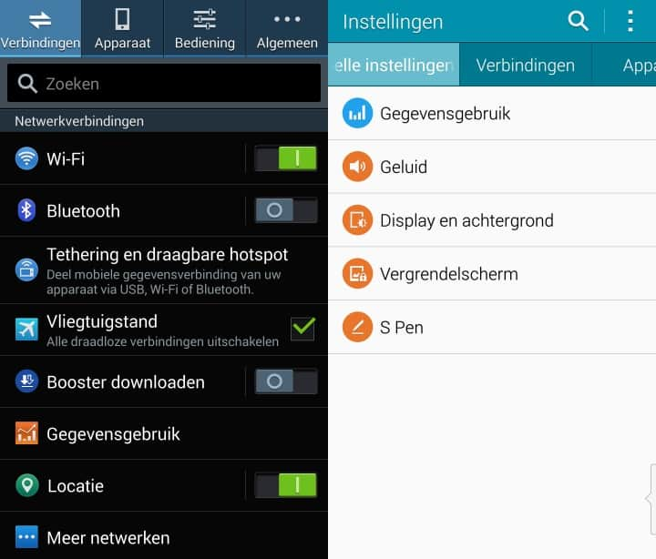 samsung-galaxy-touchwiz-android-5-0-lollipop-update-note-4-3 De Android 5.0 Lollipop update op Samsung Galaxy telefoons - wat is er nieuw?