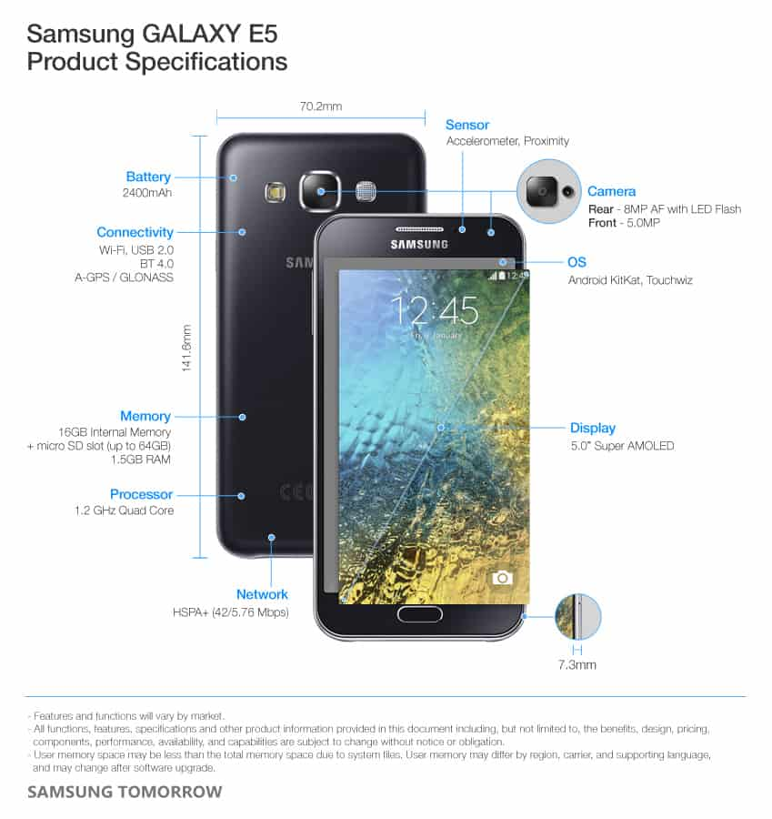 samsung-galaxy-e5-specificaties