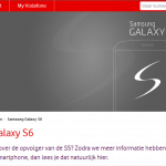 Website Vodafone: Samsung Galaxy S6 'Edge' heet eigenlijk Galaxy S Edge