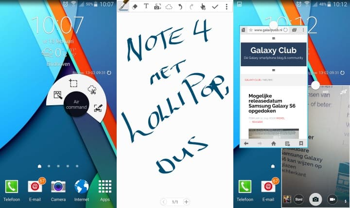 samsung-galaxy-note-4-android-5-0-lollipop-preview-nederland-5 Samsung Galaxy Note 4 met Android 5.0 Lollipop: een Nederlandse preview
