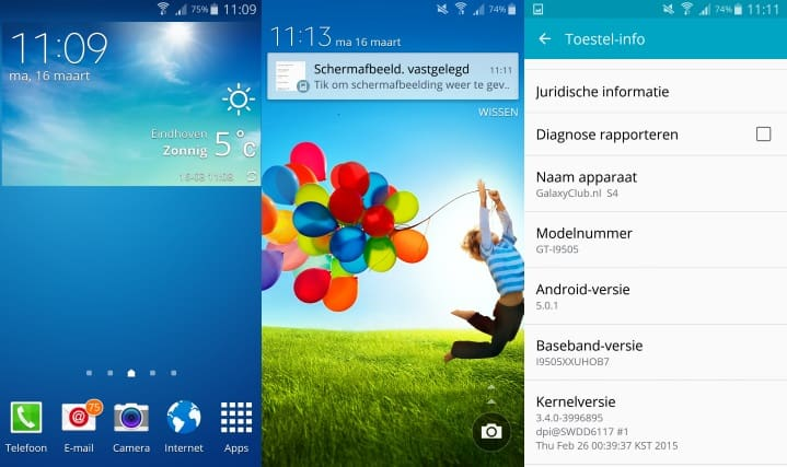 samsung-galaxy-s4-android-5-lollipop-update-preview-1 Android 5.0 Lollipop update voor de Samsung Galaxy S4 nu in Engeland (preview)