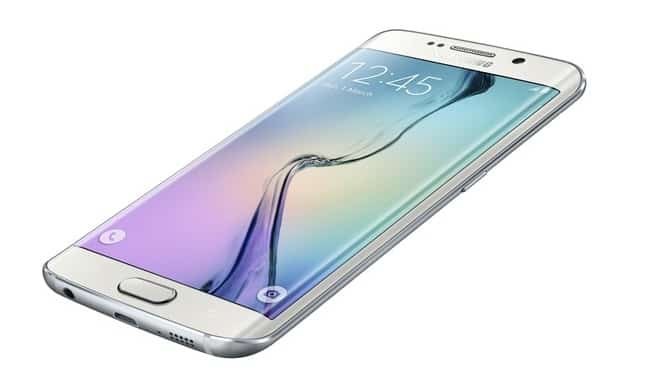 samsung-galaxy-s6-edge-wit-2 'Accu duur Samsung Galaxy S6 (Edge) net zo goed als van de Galaxy S5' (update: of..?)