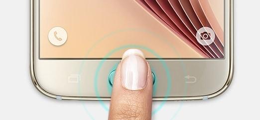 samsung-galaxy-s6-vingerscanner 'Galaxy S8 eerste smartphone met optische vingerscanner'