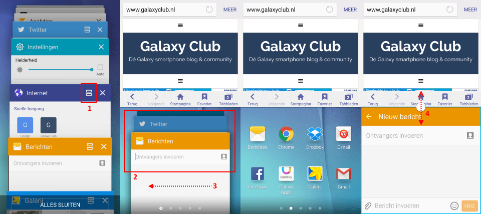 samsung-galaxy-s6-multiwindow-gebruiken1 Samsung Galaxy S6 (Edge) multitasking tips: Multiwindow en Pop-up weergave