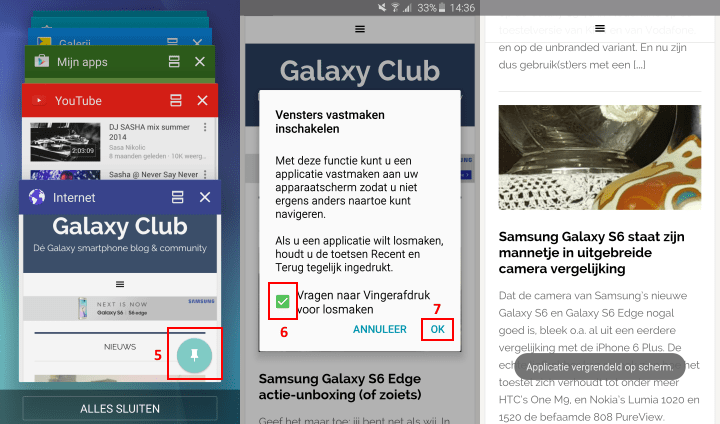 samsung-galaxy-s6-tip-apps-screen-pinnen-vensters-vastmaken-inschakelen-2 Samsung Galaxy S6 (Edge) tip: apps vastpinnen op het scherm
