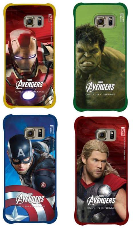 Samsung-Galaxy-S6-Avengers-Themed-Cases Avengers accessoires in aantocht voor de Galaxy S6