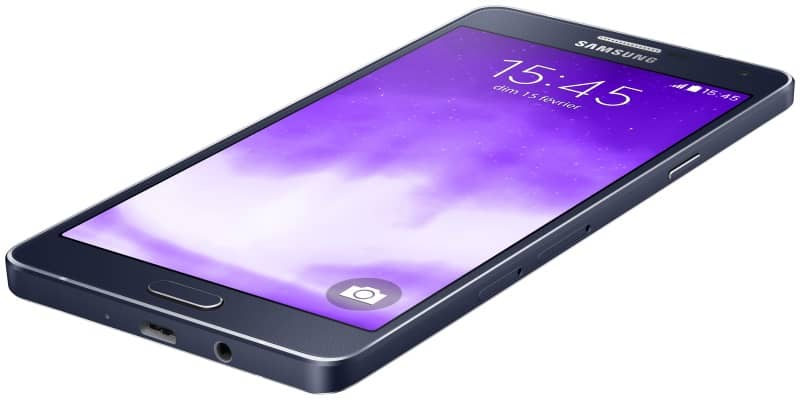 samsung-galaxy-a7 Android Lollipop start nu ook voor de Samsung Galaxy A7
