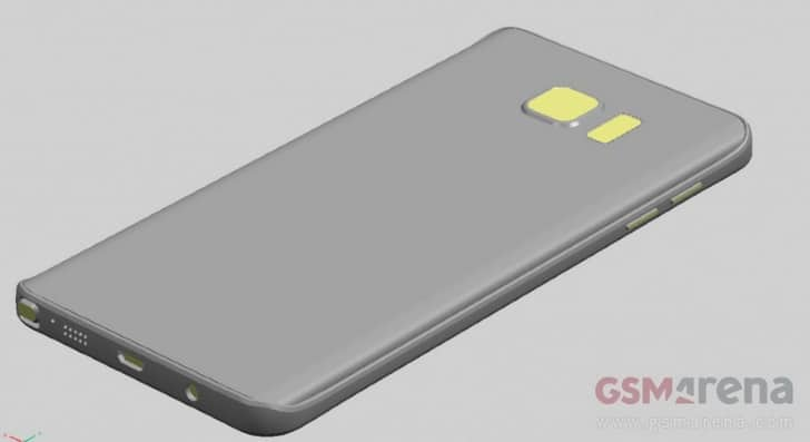 samsung-galaxy-note-5-achter 'Onthulling Samsung Galaxy Note 5, S6 Edge Plus op 12 augustus' (update: nieuwe renders + Note 5 later in NL?)
