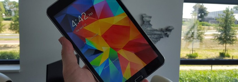 samsung-galaxy-tab-4-android-5-1-lollipop Samsung Galaxy Tab 4 8.0 springt direct naar Android 5.1.1 Lollipop
