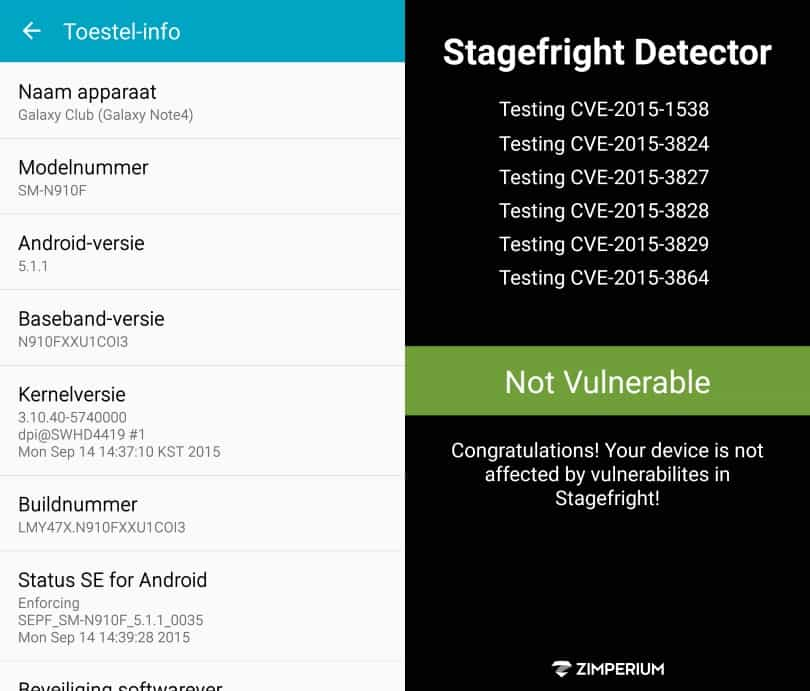 samsung-galaxy-note-4-stagefright-update-fix Kleine update fixt Stagefright lek op Samsung Galaxy Note 4 (update 2: nog niet helemaal)