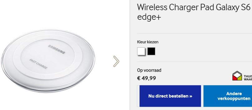 samsung-galaxy-s6-edge-plus-wireless-charger-pad-fast-ep-pn920-kopen-nederland Wireless Charger Pad met Fast Charge (EP-PN920) voor Galaxy S6 Edge Plus nu leverbaar in Nederland