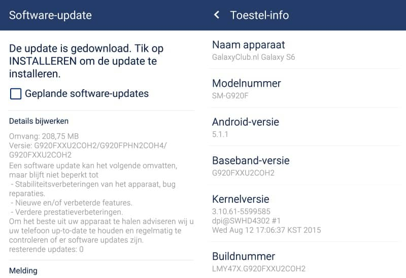 samsung-galaxy-s6-update-xxu2coh2-nieuwe-features